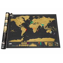 Scratch map black edition