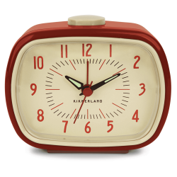 RETRO ALARM RED