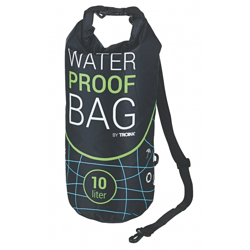 BORSA NERA WATERPROOF BAG 550X296X3 MM