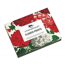 SET PER SCRIVERE LETTERE - FLOWER PRINTS