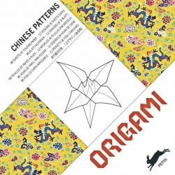 origami art deco chinese patterns