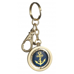 nautical anchor keyring
